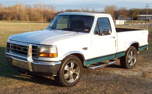 Buy Used 1996 Ford F150 Xl Short Bed Regular Cab 20 Inch Wheels In