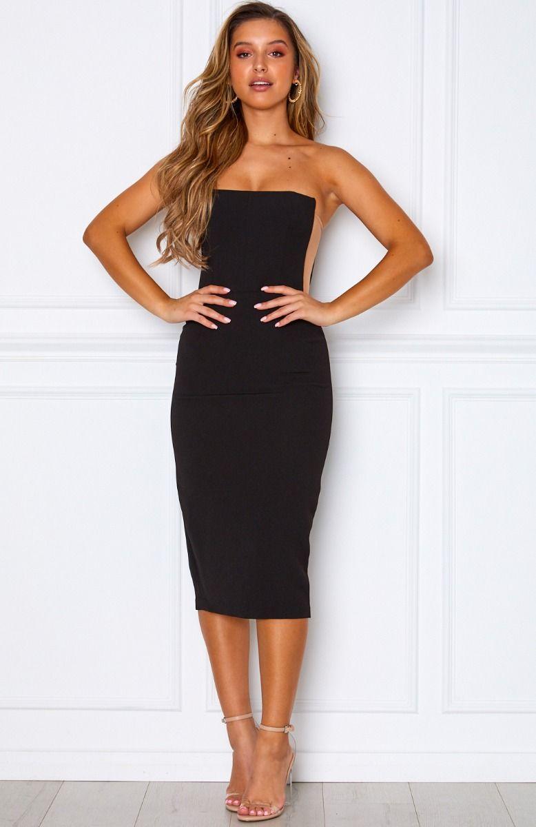 Bellini Breeze Midi Dress Black Black Midi Dress Midi Dress Formal Dresses [ 1200 x 778 Pixel ]