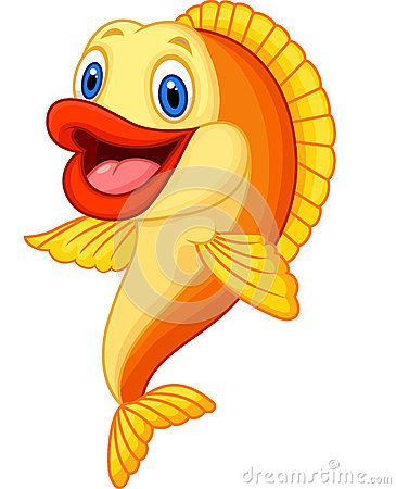 Cartoon Adorable Goldfish Cartoon Sea Animals Cartoon Drawings Cartoon