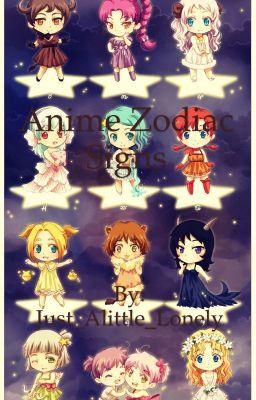 Anime Zodiac Signs Zodiac Dates Anime Zodiac Anime Zodiac Art