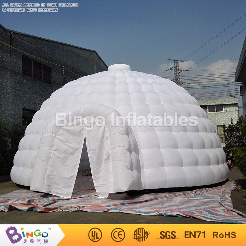 Cheap outdoor inflatable inflatable dome tent for sale giant inflatable tent & Free delivery outdoor air blower inflatable 8m inflatable ...