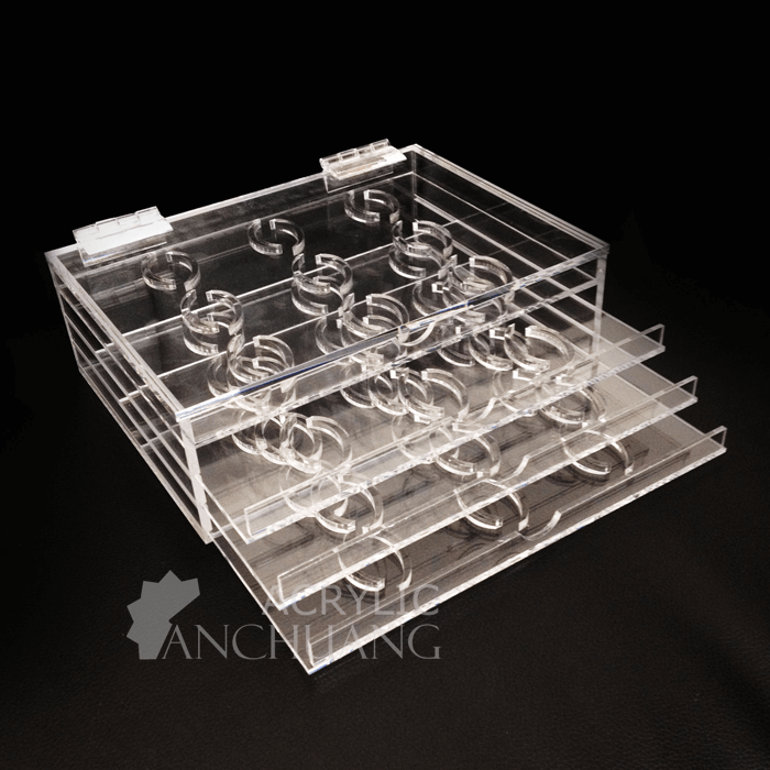d14811206d4 Clear Acrylic Eyelash Display Case/Eyelash Extension Holder ...