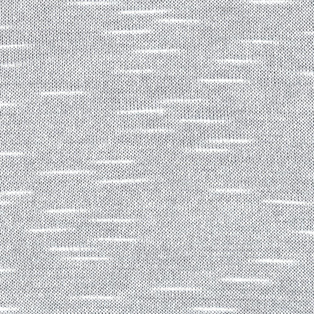 Cotton Slub Sweater Hatchi Knit Ash Grey from