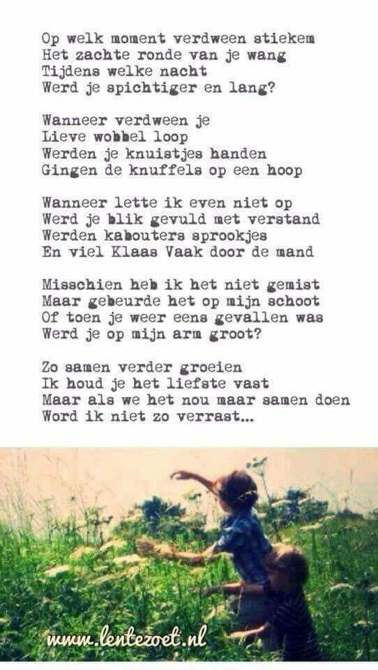 Gedicht Opgroeien Onderwijs Poëzie Citaten Kinderen En