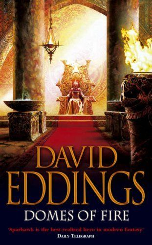 Domes of Fire: Book One of The Tamuli by David Eddings, http://www.amazon.co.uk/dp/0007217064/ref=cm_sw_r_pi_dp_OkcBsb07FYW30