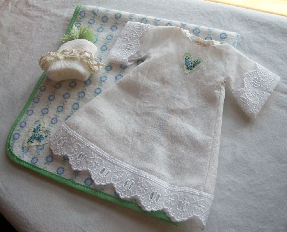 Infant Burial Gown With Hat And Blanket Angel Baby