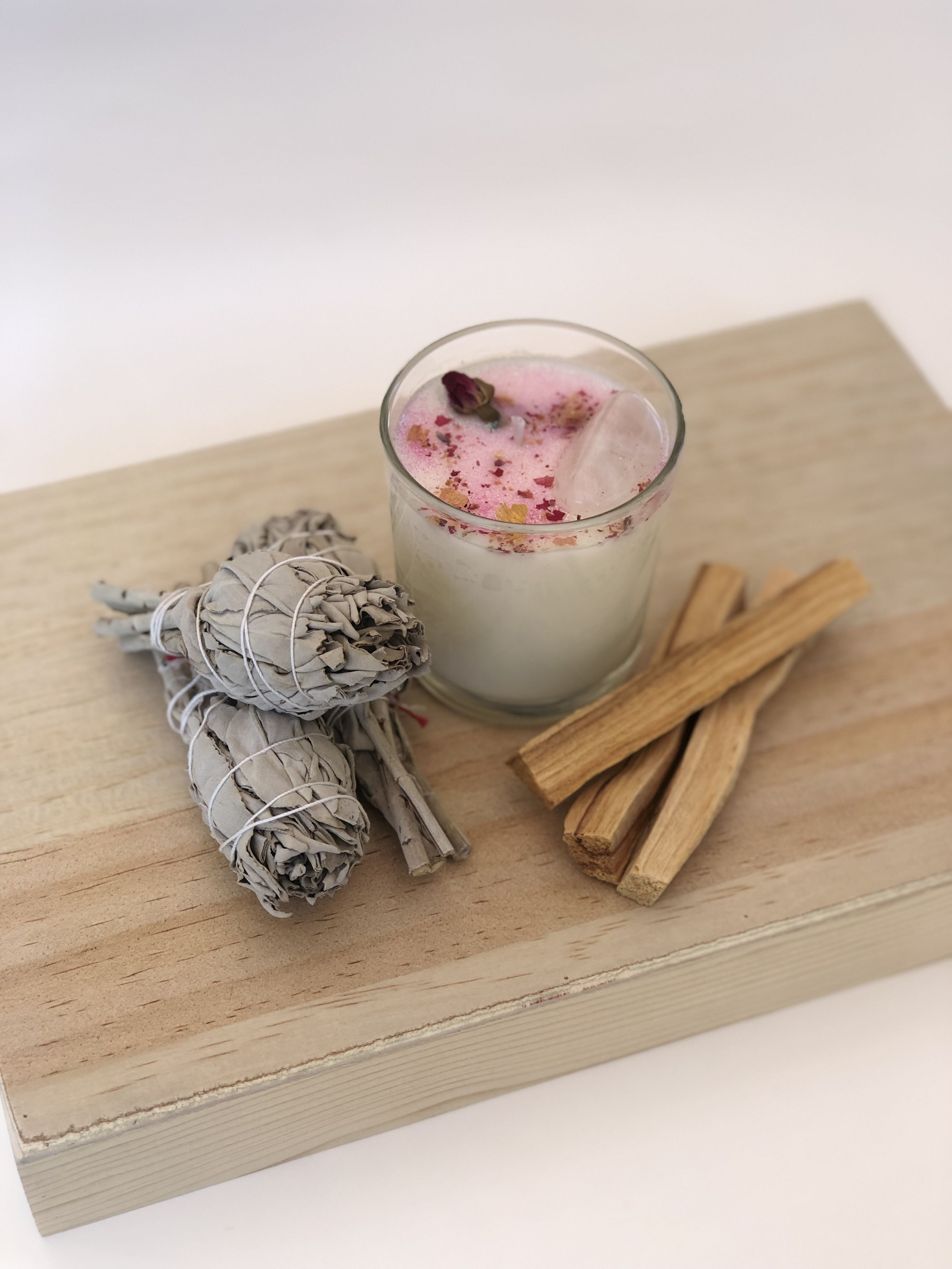 Smudging Love Attraction Kit/Home Smudging Kit/ White ...