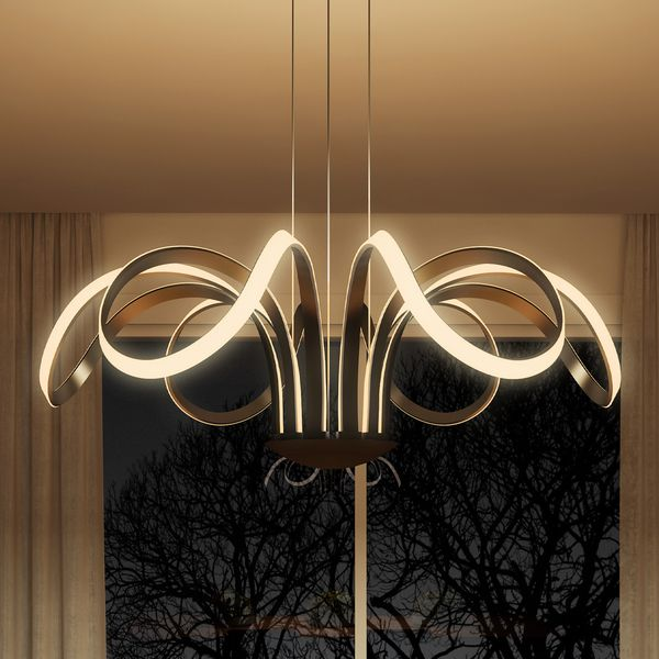 Vonn lighting capella 30 inches led adjustable hanging light modern overstock online shopping bedding furniture electronics jewelry clothing more aloadofball Images
