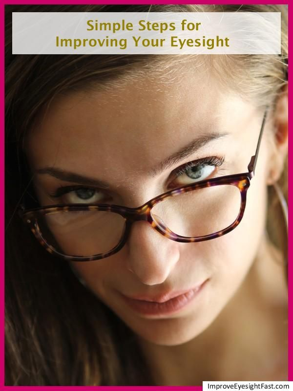 how to improve your eyesight when you have glasses