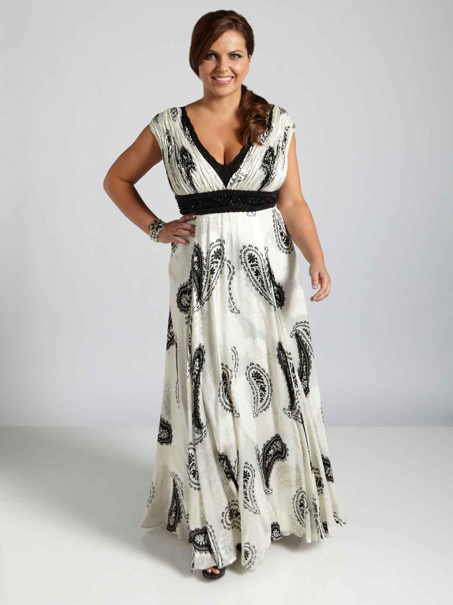 Funky plus size evening dresses
