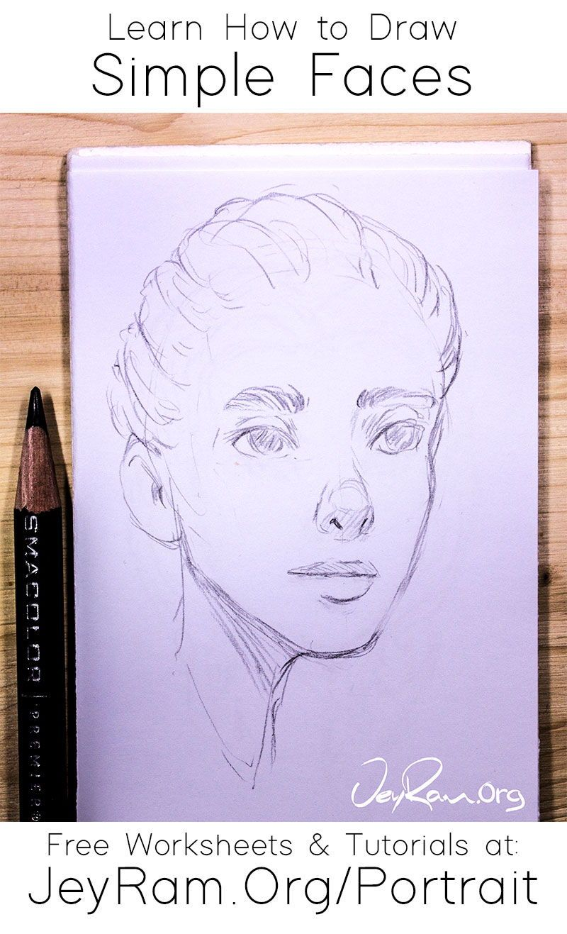 How To Draw Simple Faces In 2020 Drawings Simple Face Drawing Nose Drawing