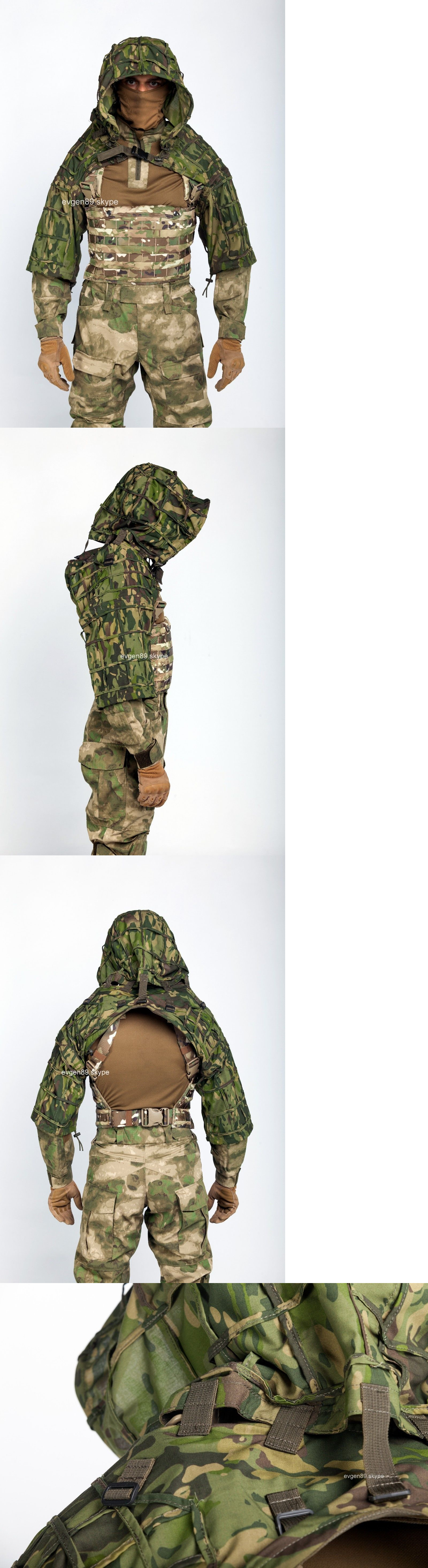 1690957fbb2d0 Ghillie Suits 177870: Disguise Sniper Coat Viper Hood Russian Spetsnaz  Multicam Tropic -> BUY IT NOW ONLY: $122.9 on eBay!