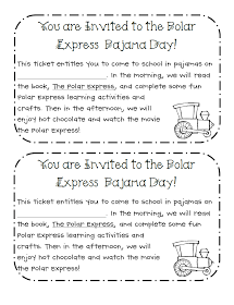 Learning with a Happy Heart: Polar Express Pajama Day