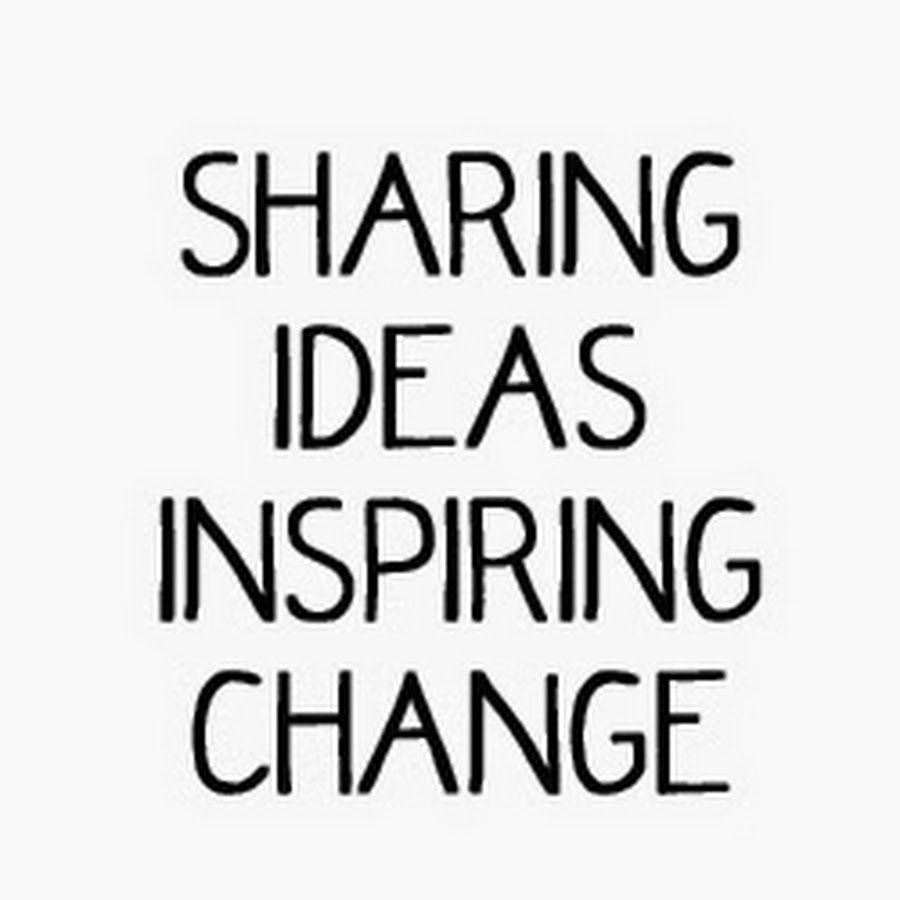 All around us are ideas waiting to be passed along, ideas that encourage action and inspire change, ideas that need to be shared. We want to show what's poss...