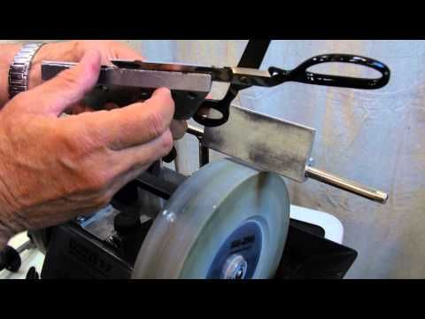 How To Sharpen Pinking Shears And Scissors Youtube Tormek