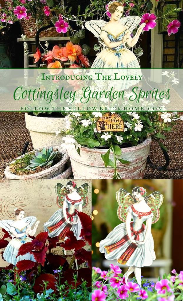 Garden Whimsy Sprites Stakes Fairy Ideas Victorian Trading Co Unique Gardens