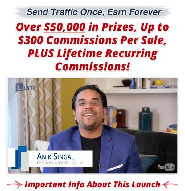 Anik Singal - Lurn Insider affiliate marketing training launch affiliate program JV invite video - Launch Day: Tuesday, May 2nd 2017 - http://v3.jvnotifypro.com/announcements/partner/anik_singal/Lurn_Insider