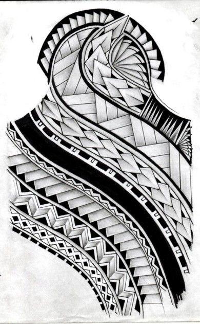 48 Coolest Polynesian Tattoo Designs Tribal And Geometric