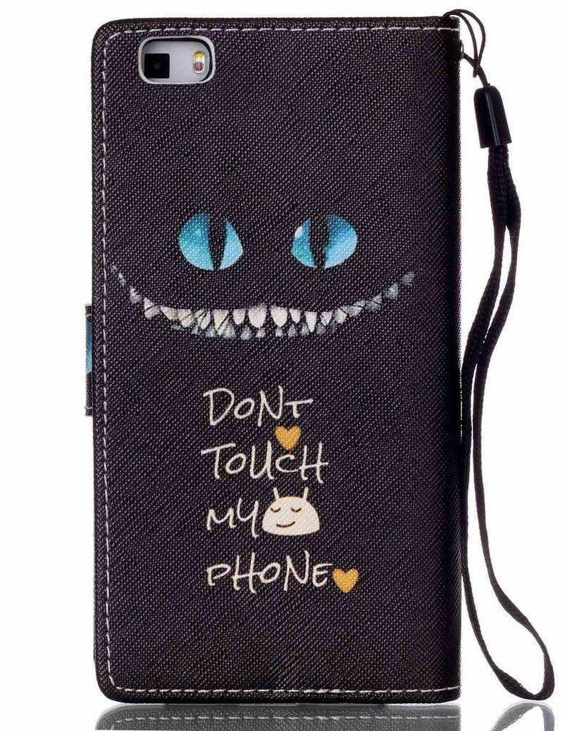 coque huawei p8 lite chat du cheshire