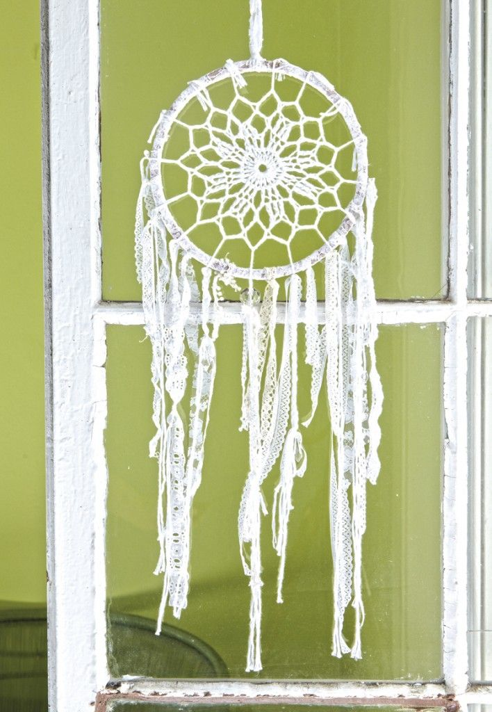 Dream Catcher To Make For Your Bedroom Free Crochet Pattern And