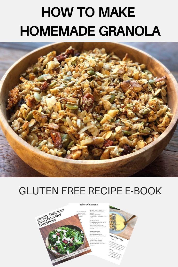 how to make homemade gluten free granola