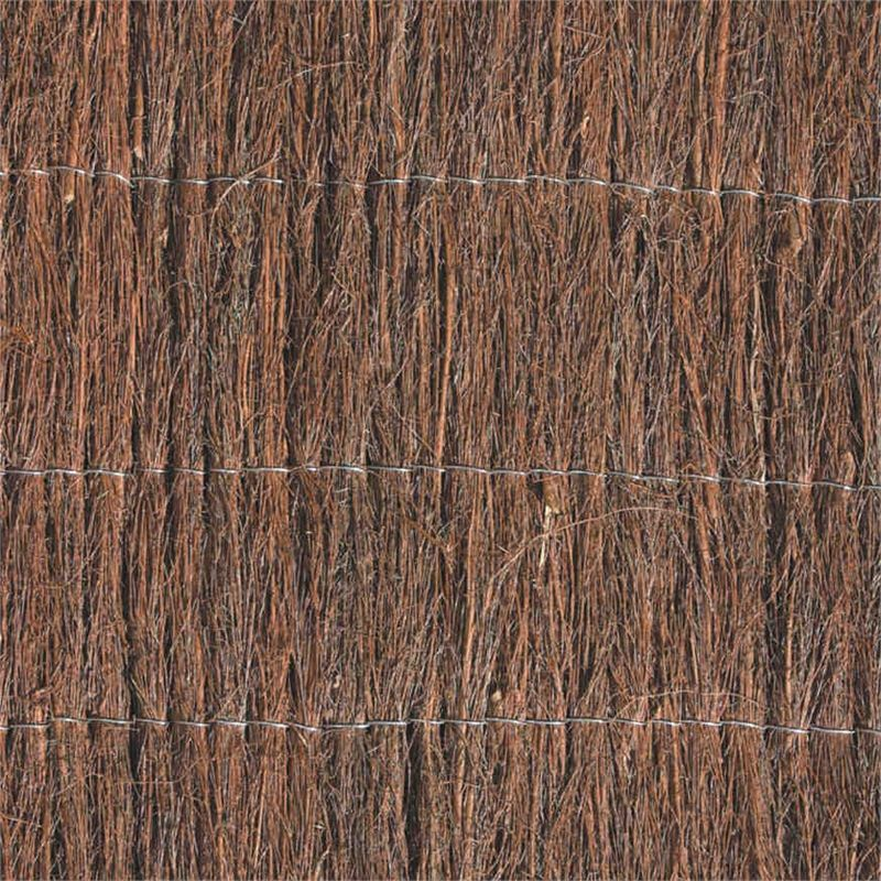 Find Garden Trend 3 X 1 8m Natural Brushwood Fence Screening At