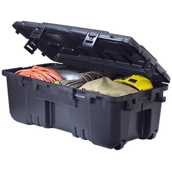 Plano Sports Locker Storage Trunk Black 1819 00 Locker Storage