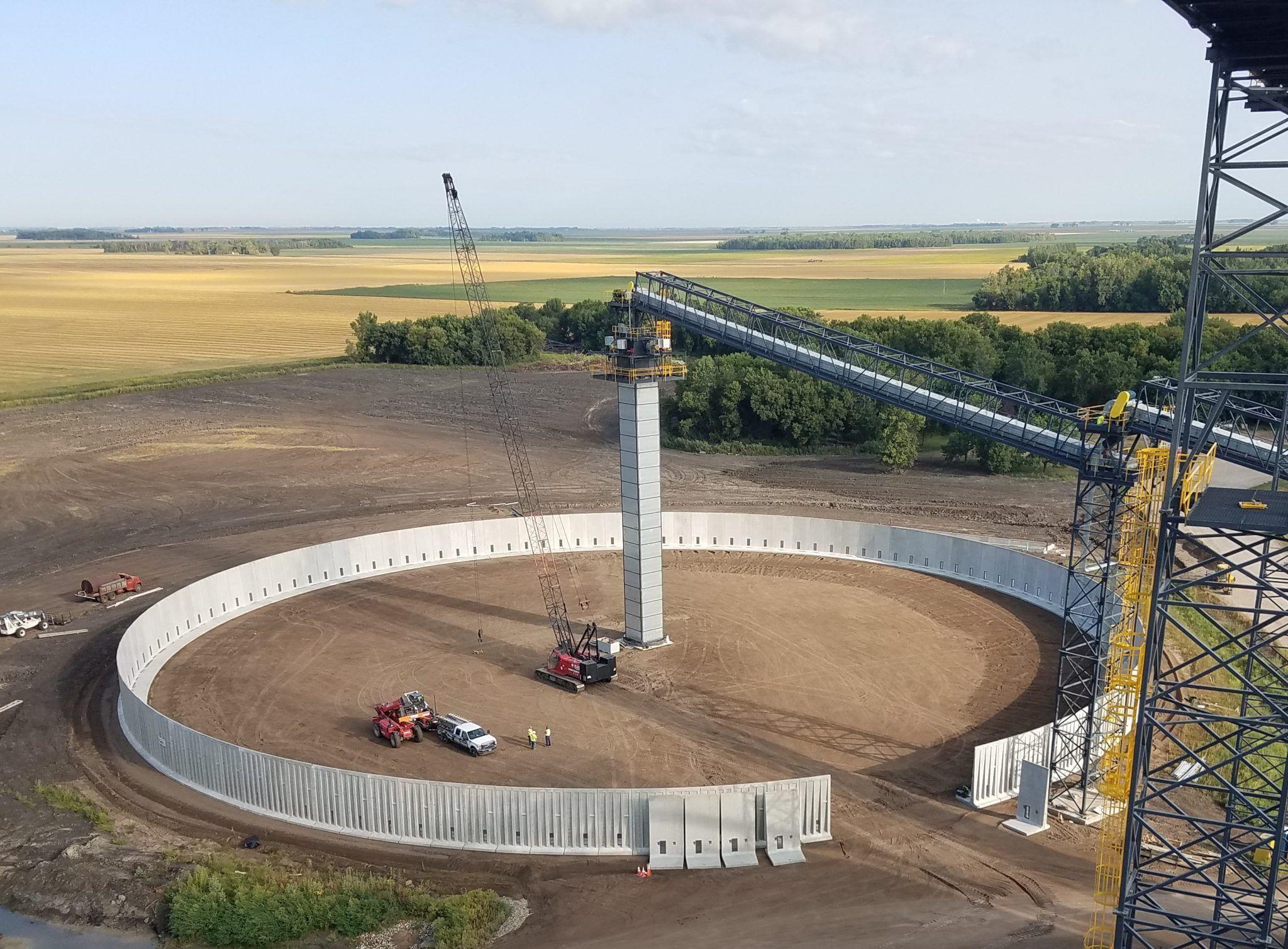 Pin On Temporary Grain Storage