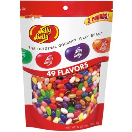 Jelly Belly 49 Assorted Flavors Jelly Beans 2lb Bag Walmart Com Gourmet Jelly Beans Jelly Bean Flavors Jelly Belly Beans