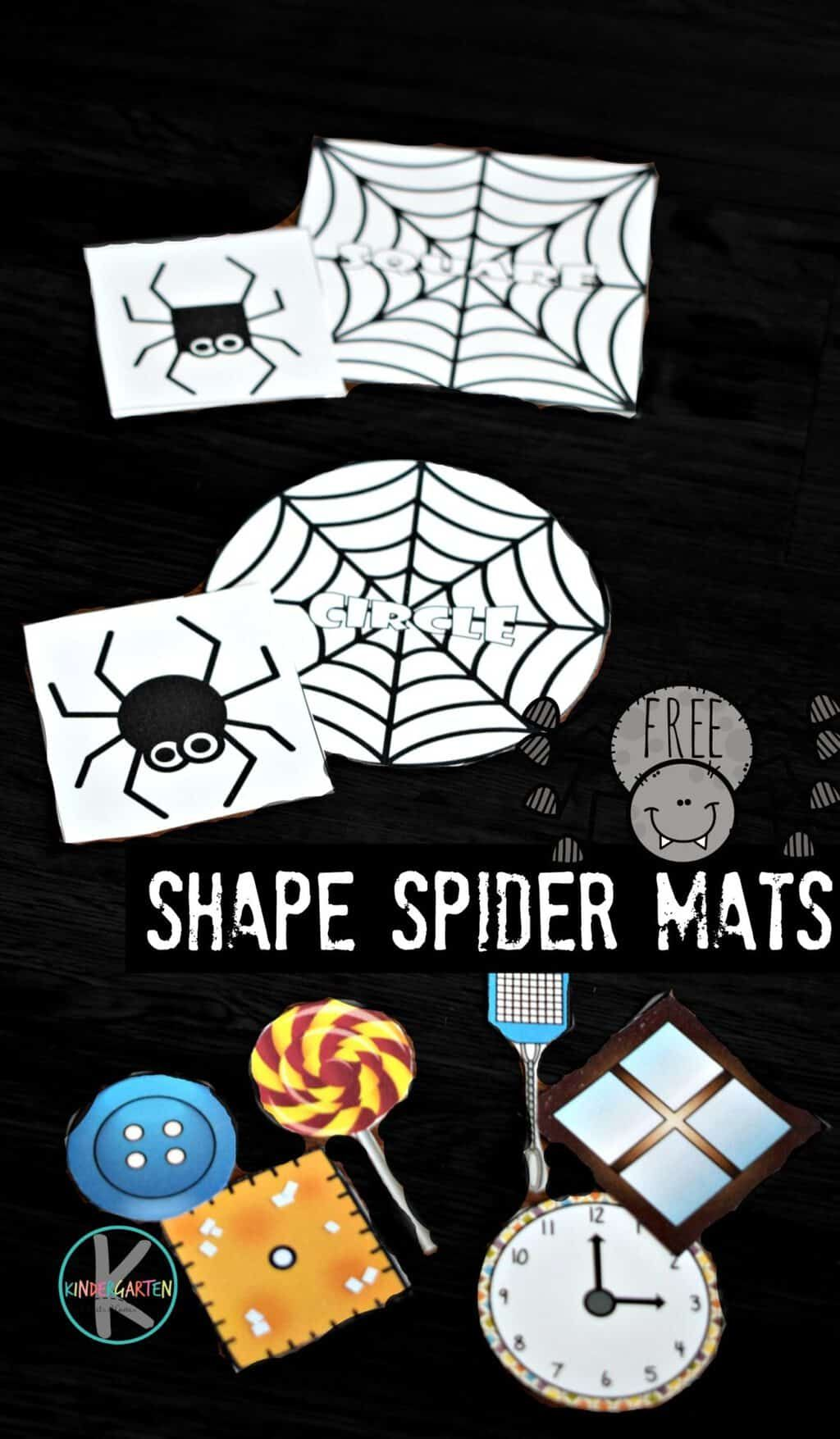 Shape Spider Mats With Images
