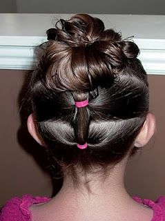 shaunell's hair little girl's hairstyles  how to do a