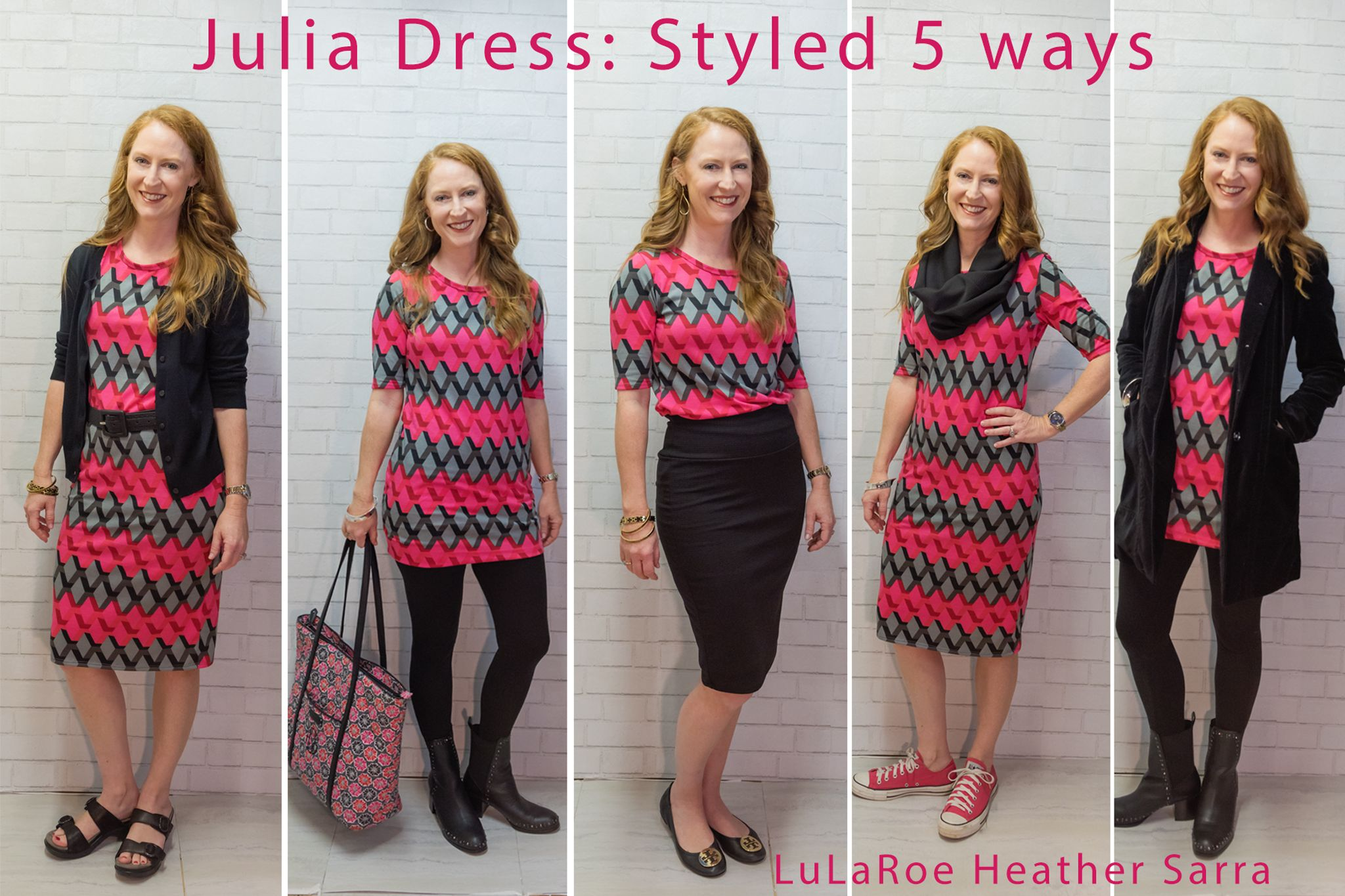 9756ceded7 Julia Dress - Ways to Wear 1. for work 2. with leggings 3. with Cassie  Skirt 4. everyday 5. evening