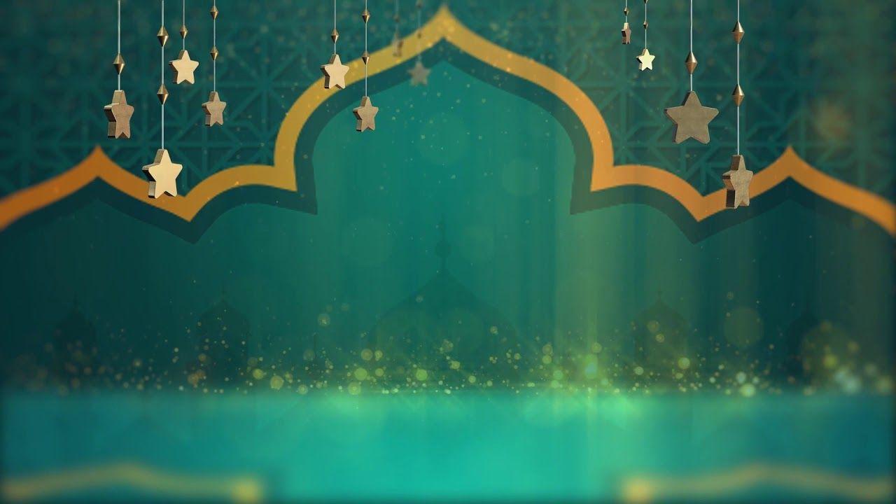 Background Biru Islami Hd