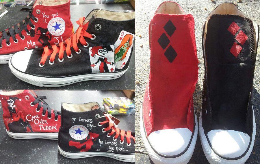 cdd330f44249 Harley Quinn Shoes by ~GamerGirl84244 on deviantART