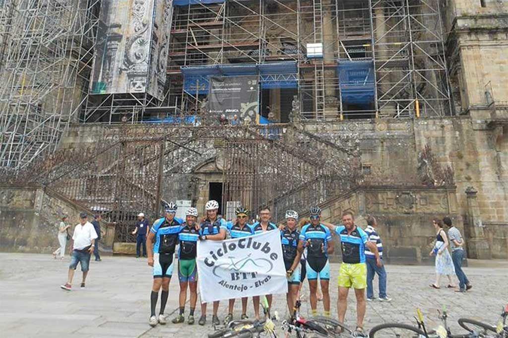 Cicloclube BTT de Elvas foi peregrino a Santiago de Compostela | Portal Elvasnews