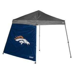 Free S H Nfl Denver Broncos Coleman 10 X 10 Canopy Wall Tent Side Wall Wall Tent Slanted Walls
