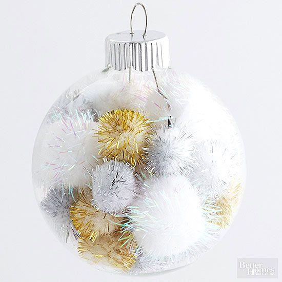 20 Ways To Dress Up Plain Christmas Ornaments Ornaments