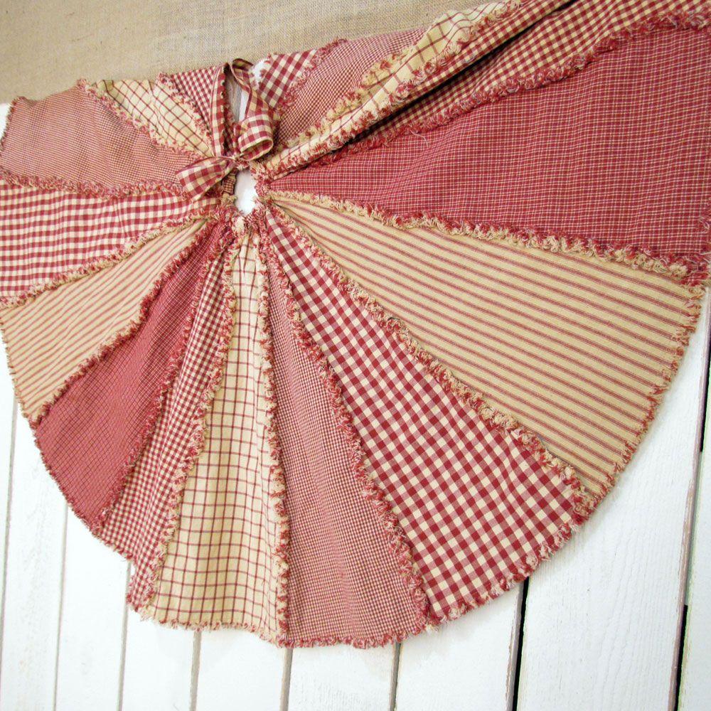 Skirt Xmas Patterns Sewing Tree