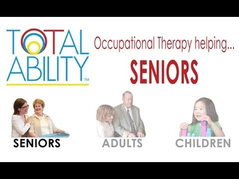 Occupational therapy help for Adults and Seniors at home