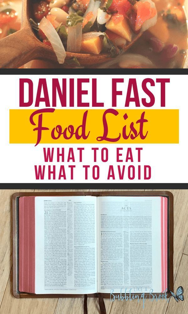 The Daniel Fast Food List: What You Should Eat - And Avoid - During Your Fast images