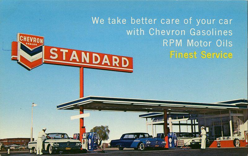 Chevron Dealer Stubbs Auto Service Vancouver Bc Old Gas