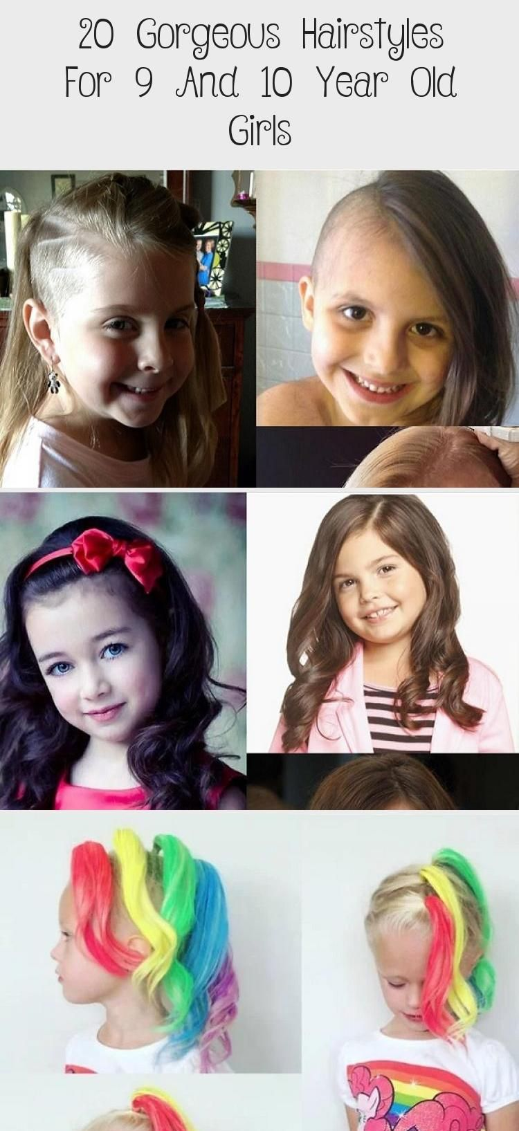 20 Gorgeous Hairstyles For 9 And 10 Year Old Girls Child Insider Cuteeverydayhairstyles Everydayhairstyles Forte In 2020 Gorgeous Hair Hair Styles Girl Hairstyles