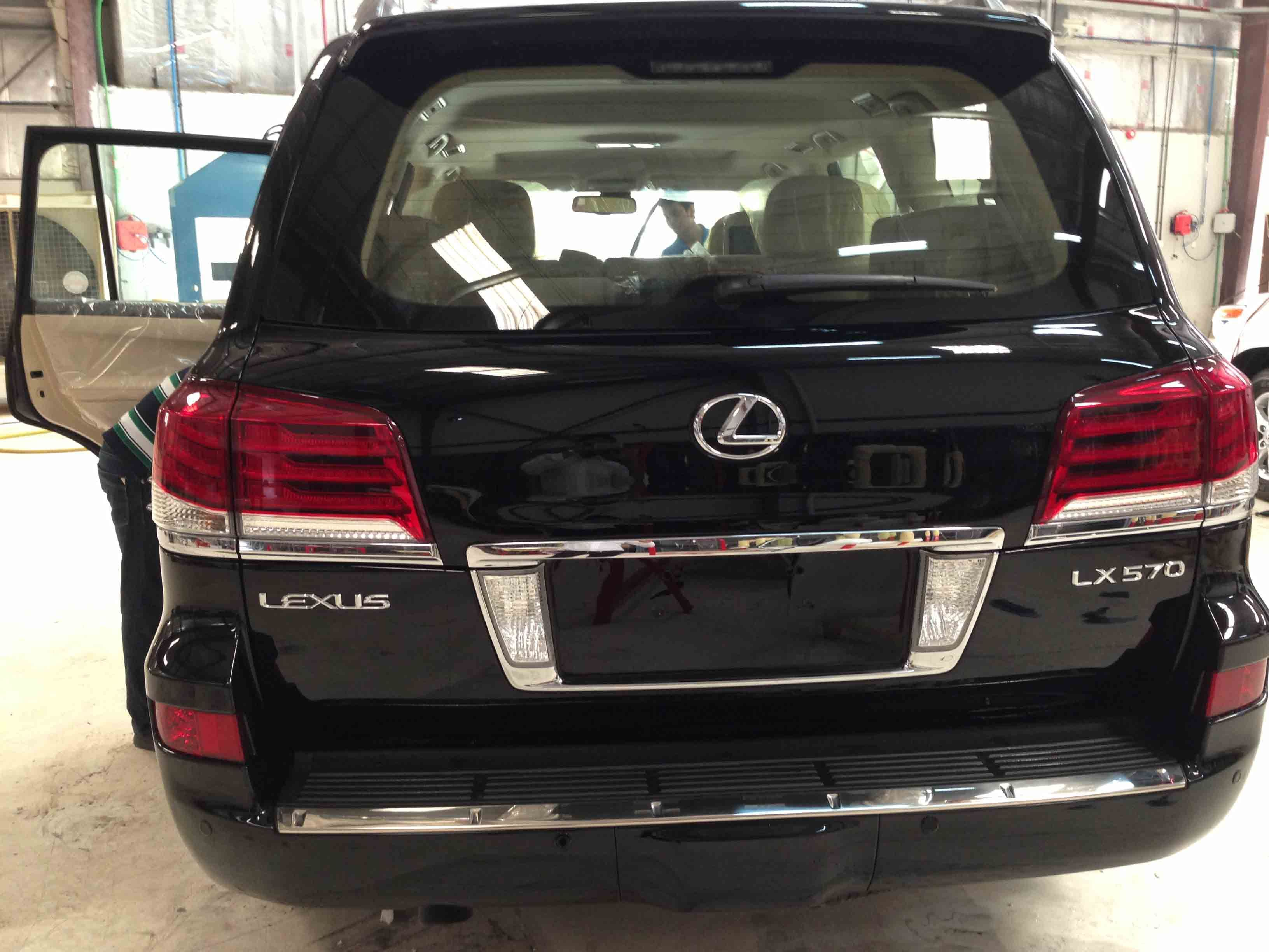 B7 Armored Lexus LX570 for immediate delivery 2014