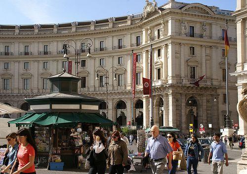 Rom, Piazza della Repubblica, Exedra