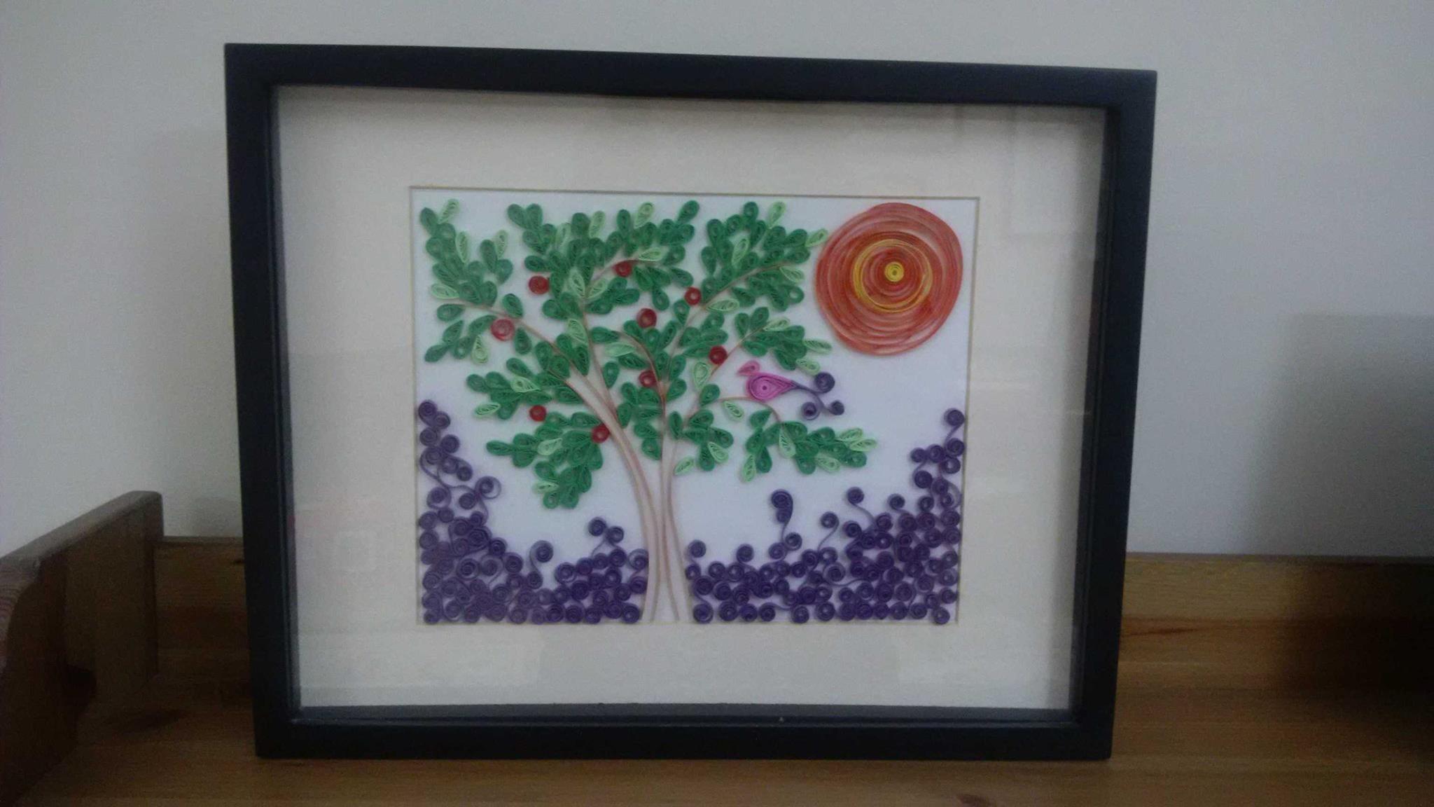 Elma Agaci Dalina Kus Konmus Apple Tree