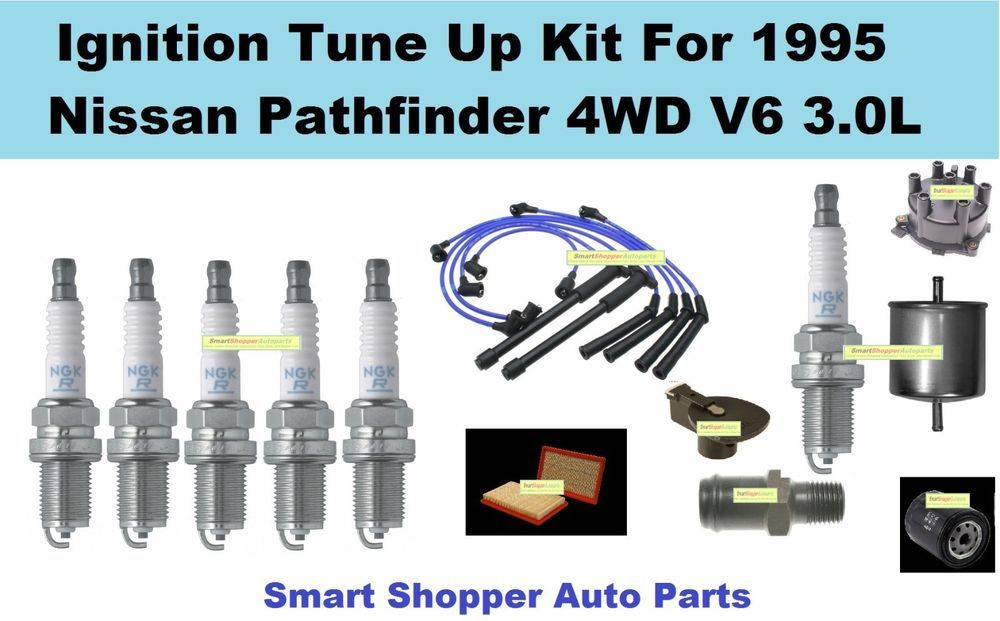 Details about Tune Up For 95 Nissan Pathfinder Spark Plug ... on