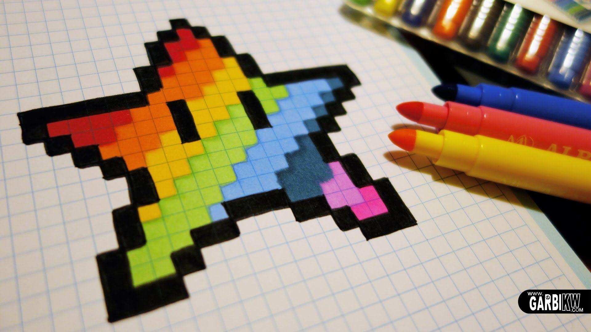 Image Associee Malen Und Zeichnen Zeichnen Pixel Kunst