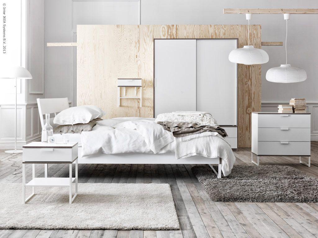 trysil sovrumsserie ikea interior pinterest ikea ideen ikea und weiss. Black Bedroom Furniture Sets. Home Design Ideas