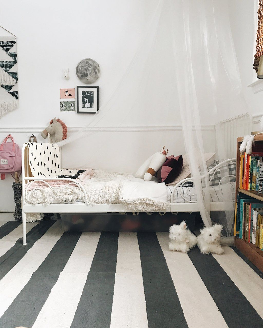 The horse pillow in natural baby girlus nursery pinterest