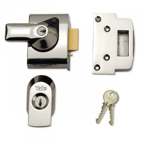 Yale Front Door Lock Narrow Body High Security Nightlatch